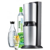 SodaStream Crystal 2.0 Trinkwassersprudler titan/silber